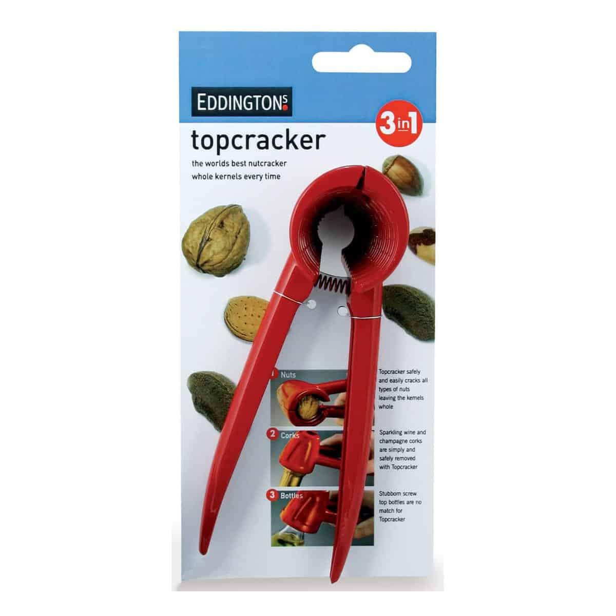 Eddingtons 3-in-1 Top Red Nut Cracker