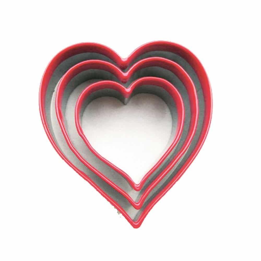 Eddingtons Valentines Heart Stainless Steel Cutter 5 cm